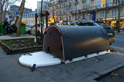 Iglou testé à proximité de la gare de Lyon à Paris