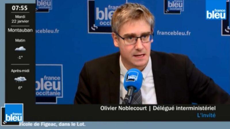 Olivier Noblecourt, le délégué interministériel à la lutte contre la pauvreté