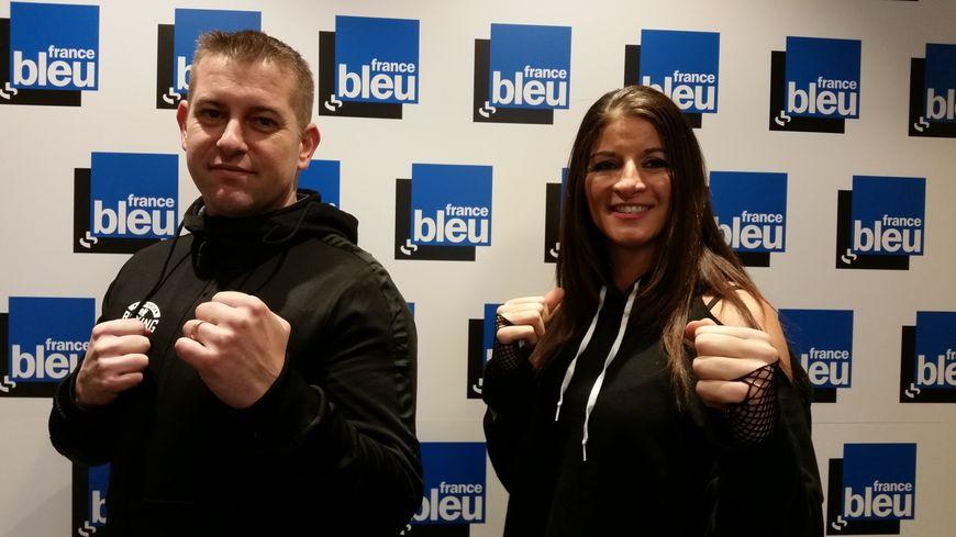 Alexandre Jouffroy et Sabrina Sturion