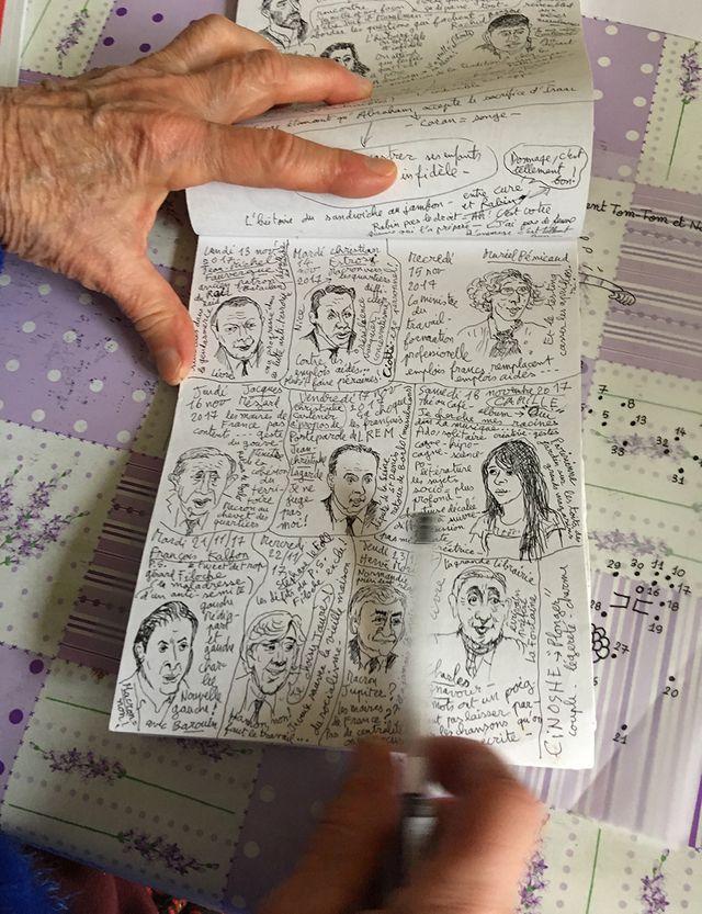 Les carnets de croquis de Bernadette Després