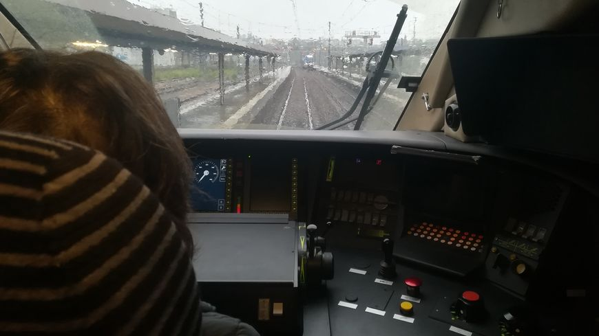"""Les nouvelles rames """"Inouï"""" offrent un confort supplémentaire aux passagers mais aussi aux conducteurs"""