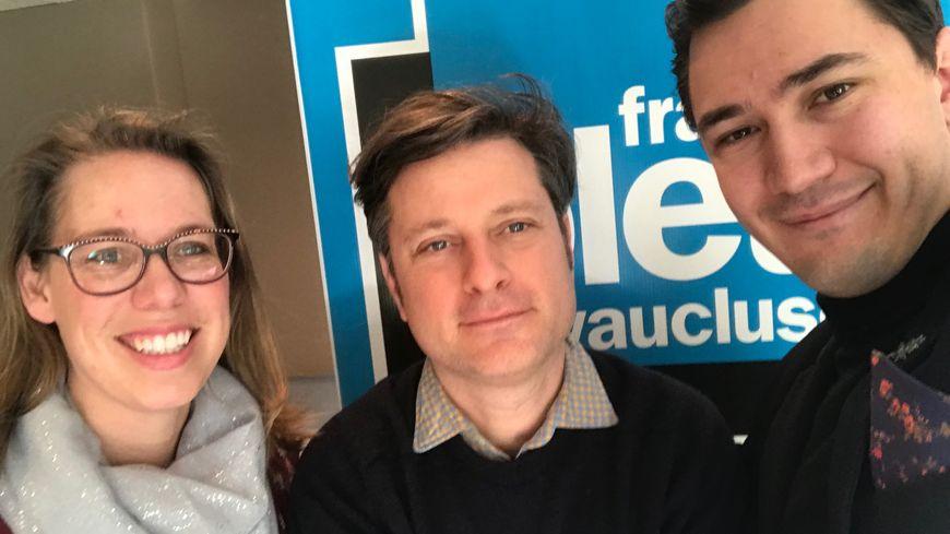 Virginie Bigonnet-Balet, Matthieu Poitavin et Paulin Reynard parlent de l'enseignement et de la transmission de la langue provençale.