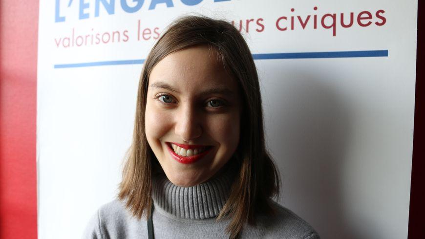 Alice Olive, 27 ans, a été lauréate de l'Institut de l'engagement.