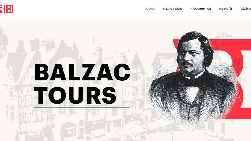 Le site dédié à Honoré de Balzac lancé le 30 janvier par la ville de Tours