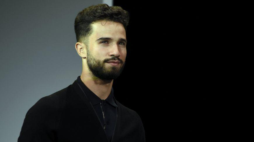 Nacer Bouhanni lors de la présentation du Tour de France 2019