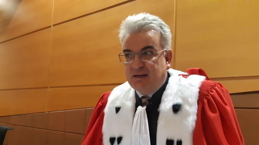 Hervé Drevard, l'avocat général a requis 25 ans de réclusion criminelle minimum assortis d'une peine de sureté de 12 ans et demi