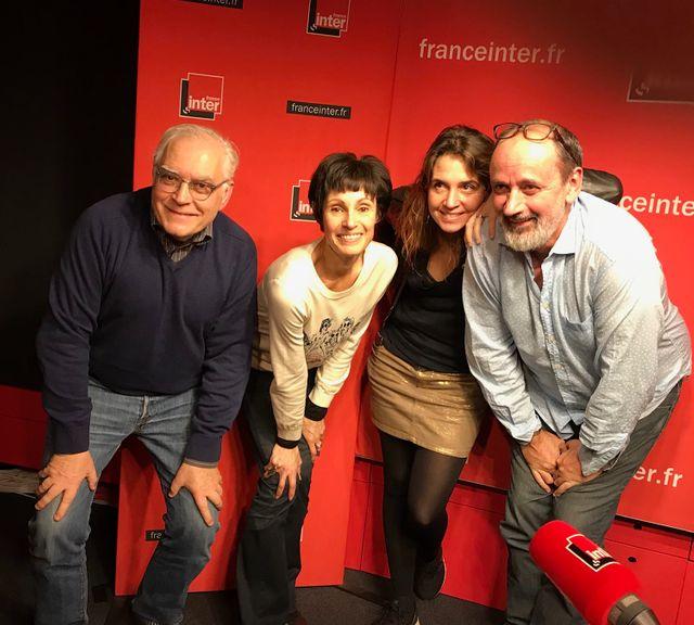 """""""Vous Les Femmes"""", de g. à d. : Albert Algoud, Marie-Claude Pietragalla, Elsa Boublil, Daniel Morin"""
