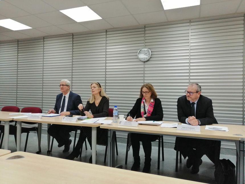 Les responsables des Finances Publiques régionales et départementales en conférence de presse