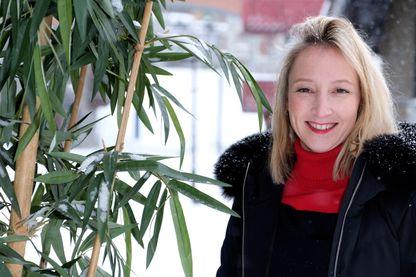 L'actrice et humoriste Audrey Lamy pendant le Festival de Cinéma Européen Les Arcs le 17 décembre 2018.