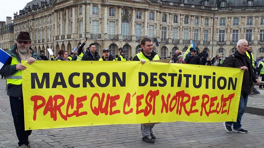 Acte XI des Gilets jaunes à Bordeaux, Maxime Nicolle, a été arrêté ...