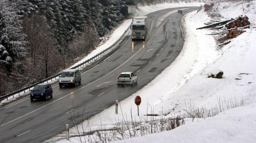Prudence sur les routes, en raison de la neige ce mercredi