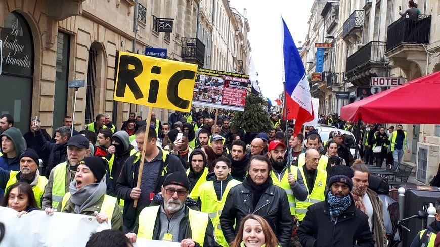 Forte mobilisation ce samedi pour l'acte XI des gilets jaunes à Bordeaux
