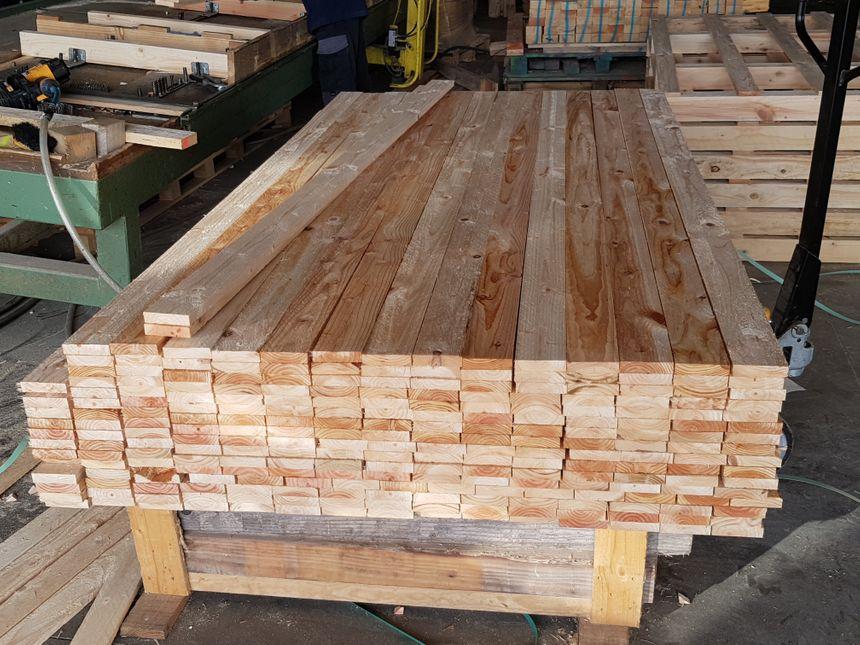Le bois, cette matière première indispensable pour la fabrication des palettes vient du Limousin