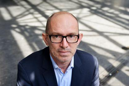 Portrait de Laurent Mauvignier, écrivain, le 23 septembre 2014 à Paris