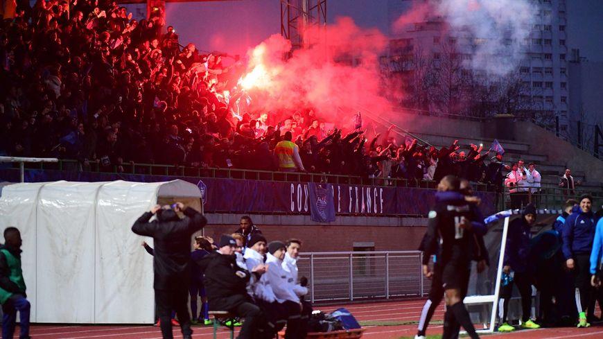 La victoire de Noisy-le-Grand contre le Gazelec Ajaccio, dimanche 6 janvier, à Bonneuil-sur-Marne