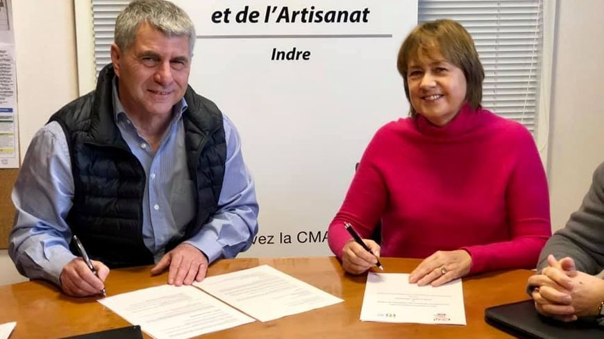 Signature de la convention ce mardi.