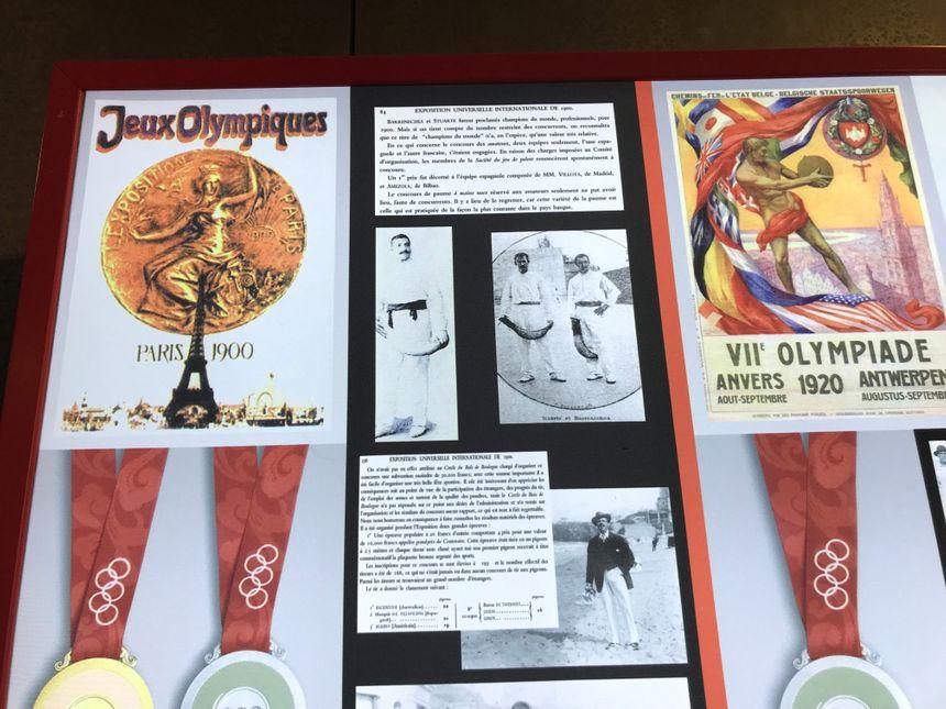 La pelote était sport olympique aux JO de Paris en 1900