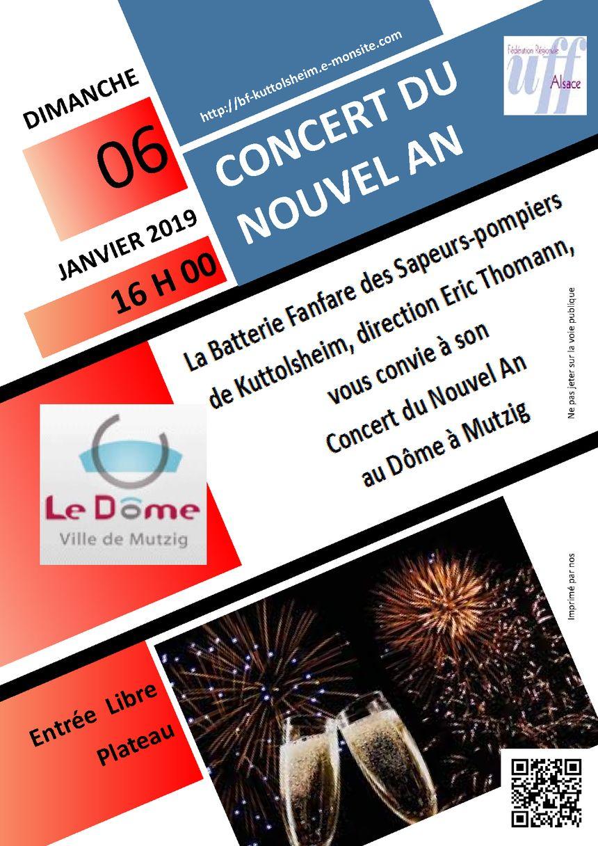 Affiche du concert du Nouvel An
