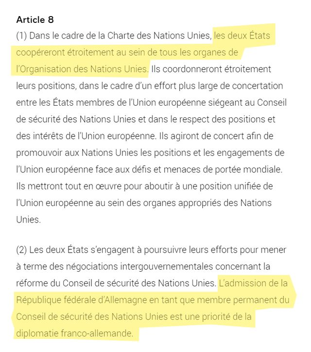 L'article 8 du traité