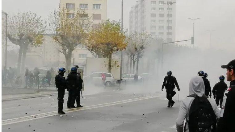 C'était le 3 décembre dernier, Rue Emile Zola, à Orléans