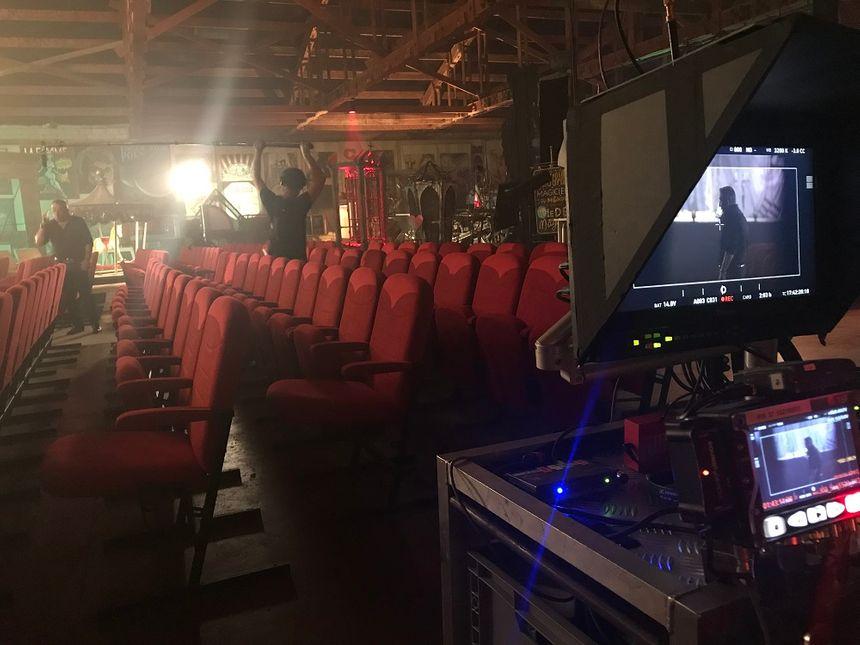 Le tournage a eu lieu à Barbières en juillet dernier
