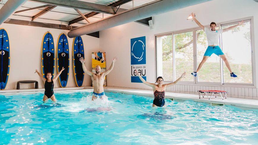 Aquajump avec les Plaisirs de l'eau à Eysines
