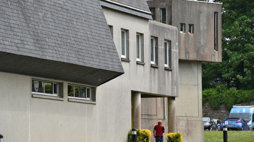 La prison de Brest.