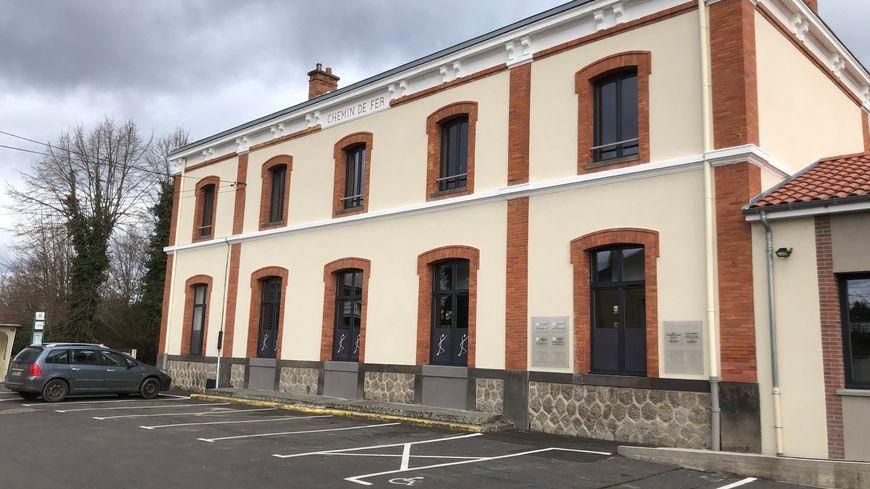 L'ancienne gare de Courpière est désormais un centre de santé privé
