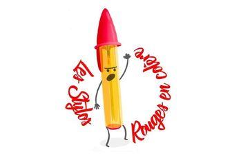 La page Facebook des stylos rouges regroupe début janvier plus de 42000 personnes.