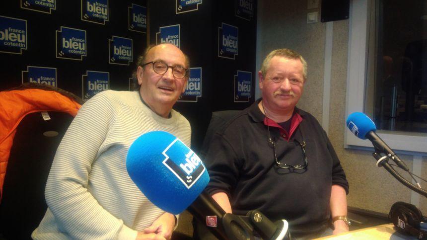 Franck Marie et Alain Lecourtois