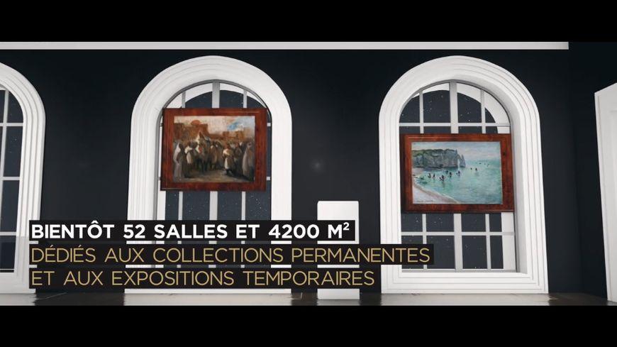 Extrait du clip du musée des Beaux Arts