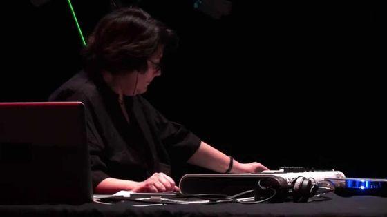 Christine Groult au festival Présences Electronique 2014
