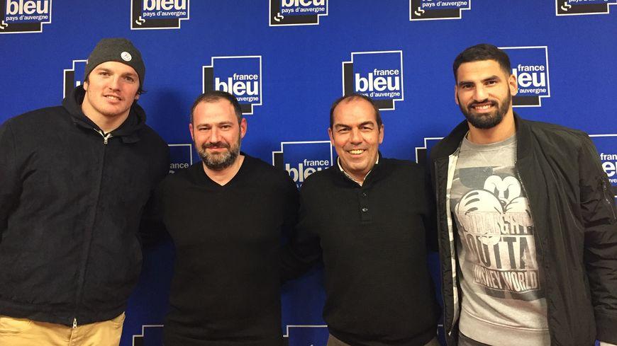 De g. à d. : Arthur Iturria, Jean-Luc Guillet, Jean-Pierre Morel et Mehdi Jeannin