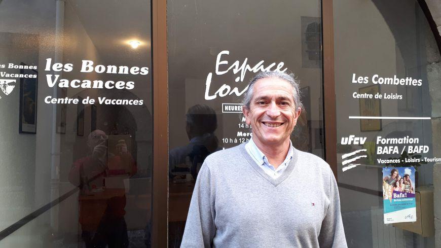 """Jean-Luc Donnadille, président de l'association """"les bonnes vacances"""" à Castres (81)"""