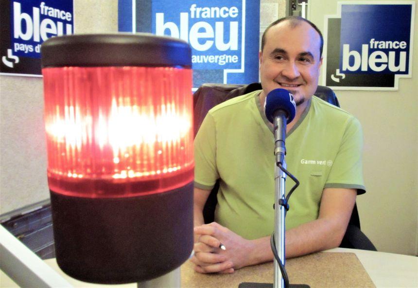 Lionel Desbordes, expert jardin de France Bleu Pays d'Auvergne.