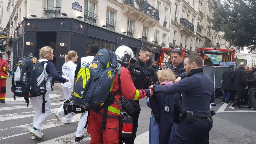 Douze immeubles vont rester inaccessibles pendant 48h après l'explosion rue de Trévise