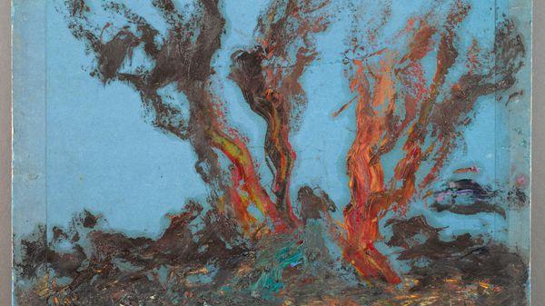 """Quelle musique voyez-vous sur le tableau : """"Ébauche. Plantes marines pour «Galatée»"""" de Gustave Moreau ?"""