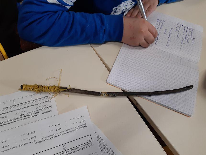 Les élèves ont chacun fabriqué leur propre baguette magique