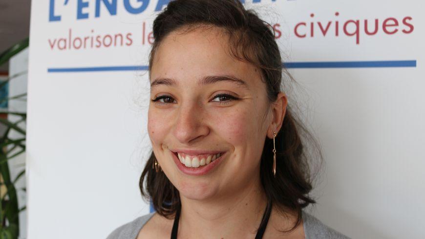 Marie Falaise, 25 ans, fait partie des lauréats de la promotion du printemps 2018 de l'Institut de l'Engagement.