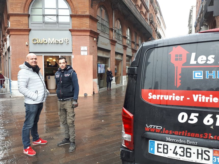 """On a un travail de fou"" confirme Jacky Golbéry d'Artisan 31"