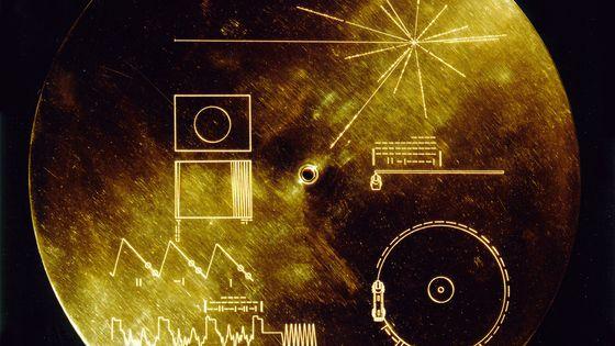 "Photo du ""Voyager Golden Record"""