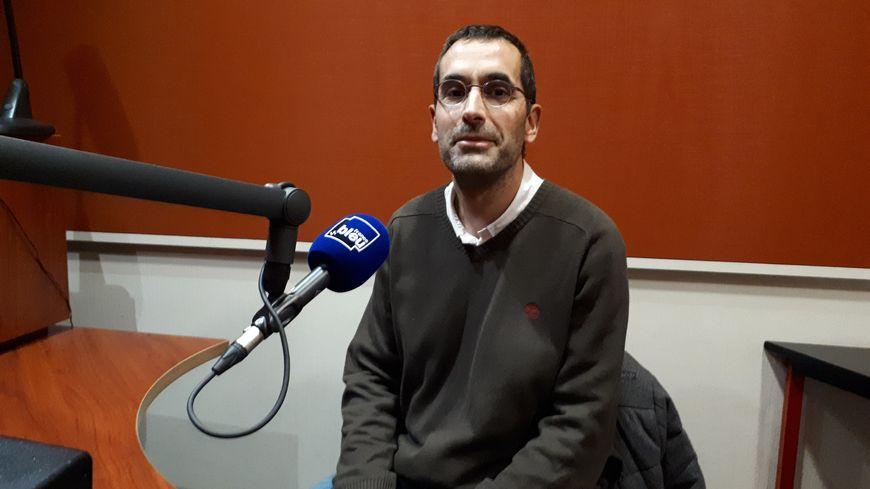 Patrice Arnoux, co-secrétaire académique du SNES en Haute-Vienne