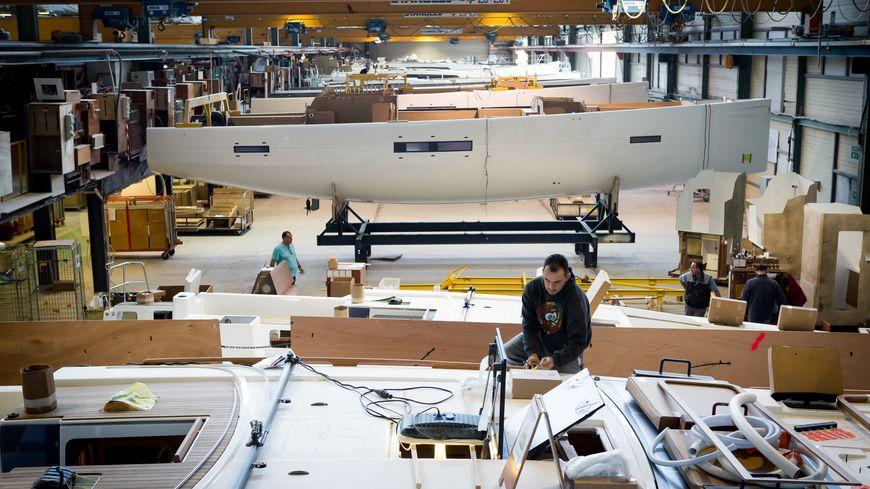L'entreprise Dufour Yacht produit 400 bateaux par an. (Photo Guido Cantini)