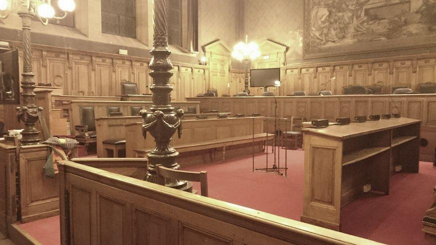 La salle d'audience de la cour d'assises de Dijon
