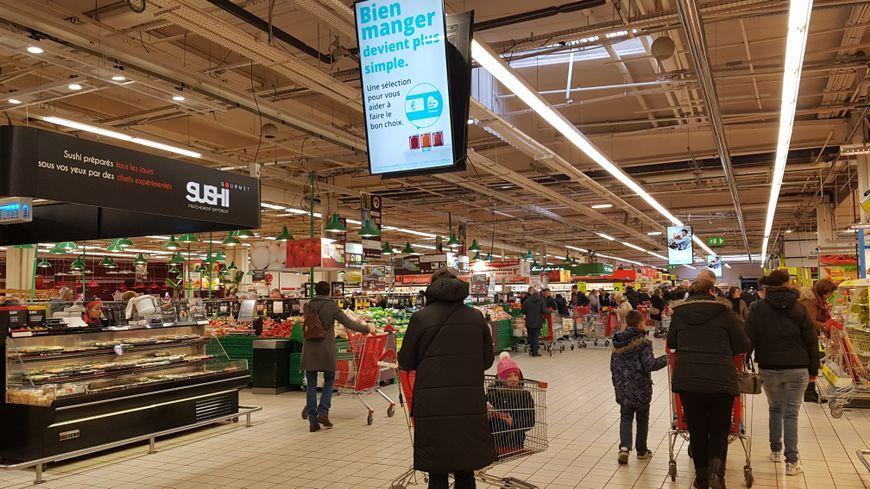 Supermarché (illustration)