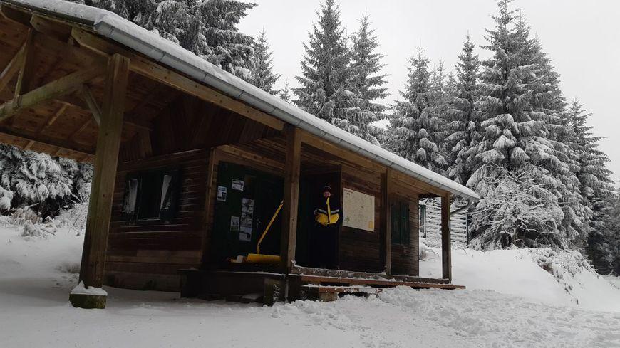 Le chalet de la station a 3,5 km de la commune de Lacaune.