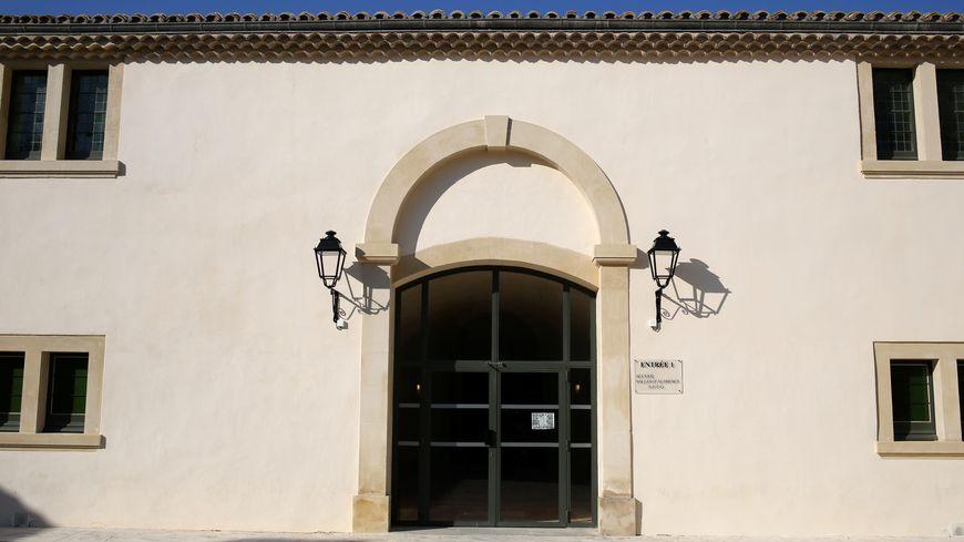 Illustration. Le palais de justice de Tarascon