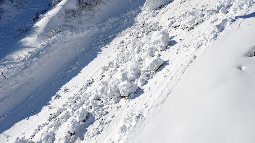 Photo d'illustration - avalanche à Valmorel