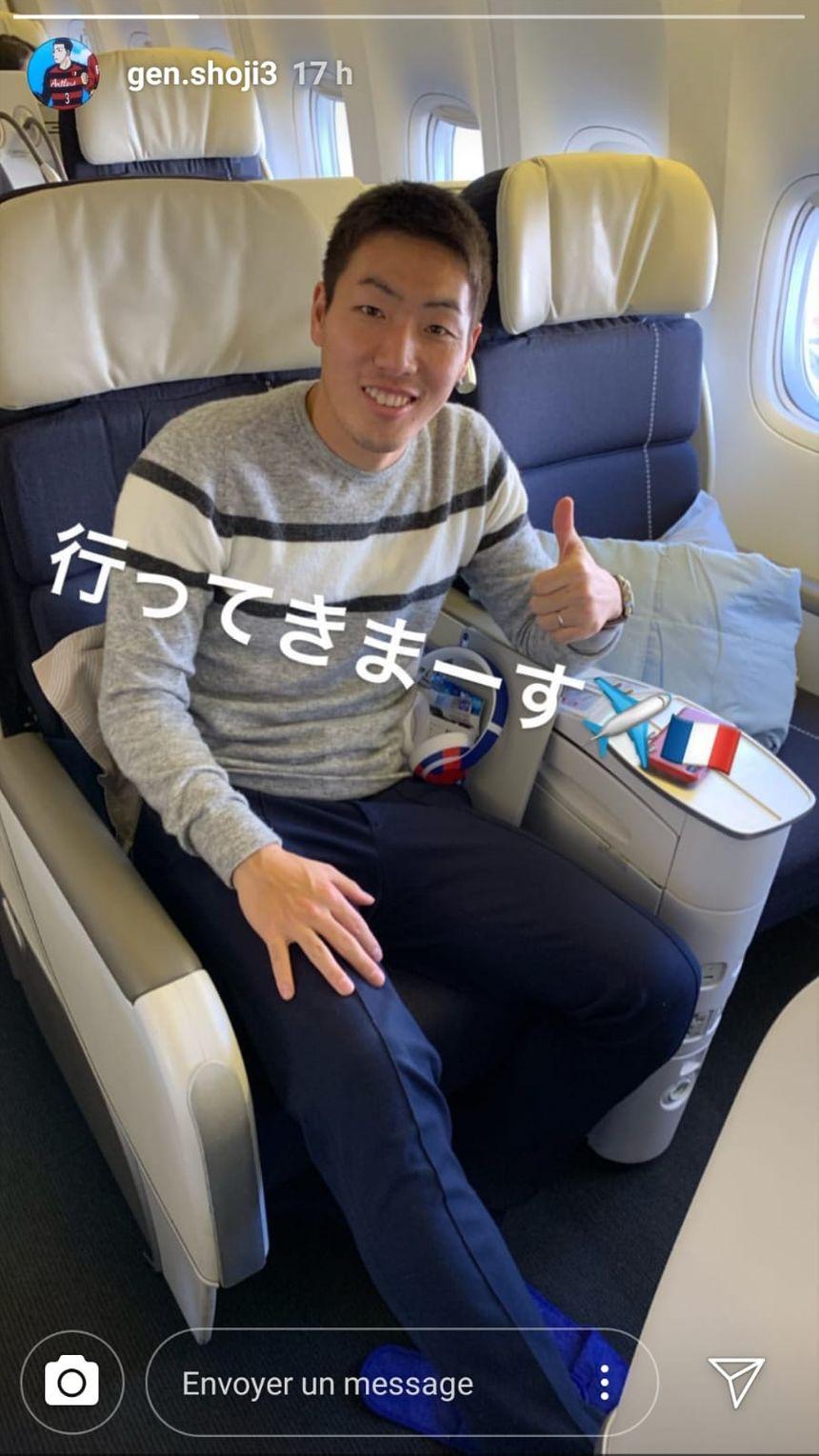 Gen Shoji en route pour la France