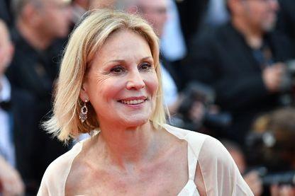 L'actrice Marthe Keller, le 23 mai 2017 pour la cérémonie du «70ème anniversaire» du Festival de Cannes